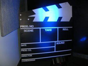 Clapper Board Prop
