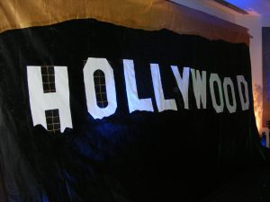 Hollywood Backdrop Hire