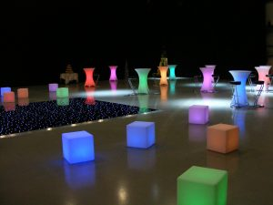 LED Furniture Hire Hampshire