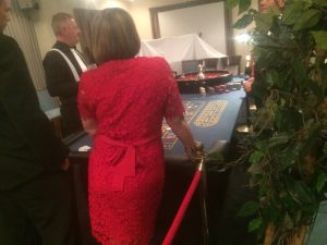 Casino Hire at Romsey Golf Club