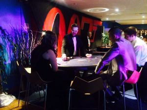 James Bond Casino Tables Hampshire